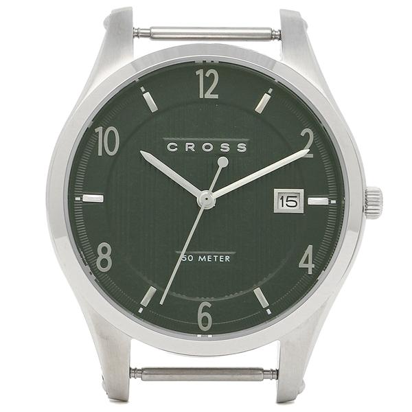 クロス 腕時計フェイス メンズ/レディース CROSS CR8036-04 グリーン シルバー