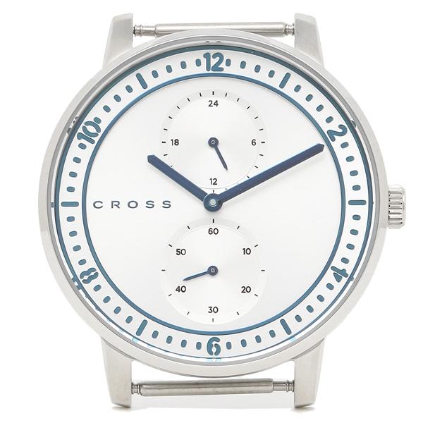 CROSS クロス 腕時計フェイス メンズ/レディース CR8037-01 シルバー ブルー シルバー