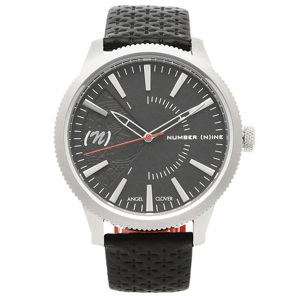 エンジェルクローバー 腕時計 メンズ ANGEL CLOVER NN42SBK BK ブラック シルバー