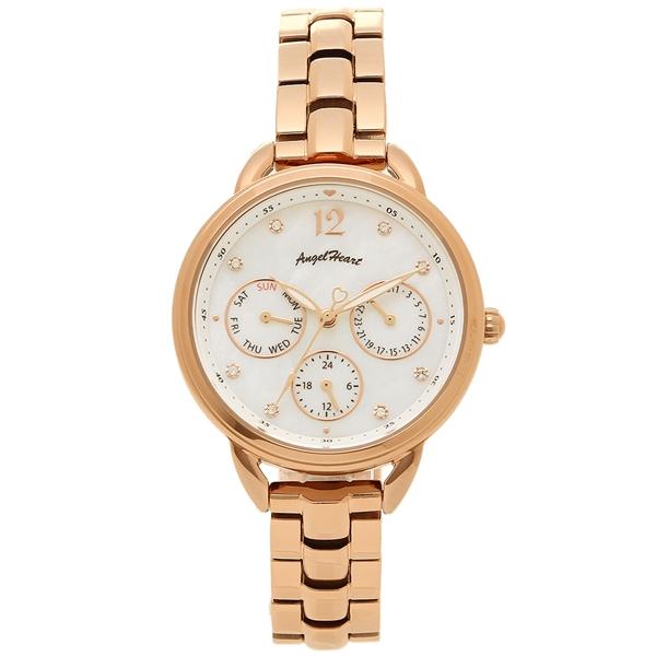 ANGEL HEART 腕時計 レディース エンジェルハート LH33PG ピンクゴールド ホワイト