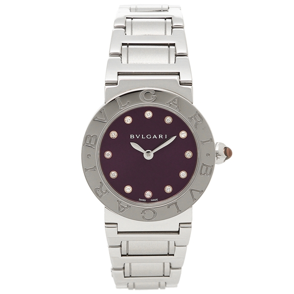 BVLGARI 腕時計 レディース ブルガリ BBL26C7SS/12 パープル シルバー