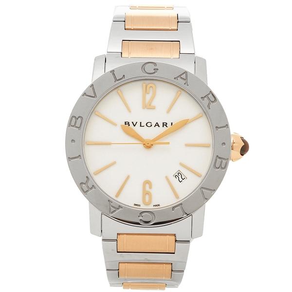 BVLGARI 腕時計 レディース ブルガリ BBL37WSSPGD ホワイト ピンクゴールド シルバー