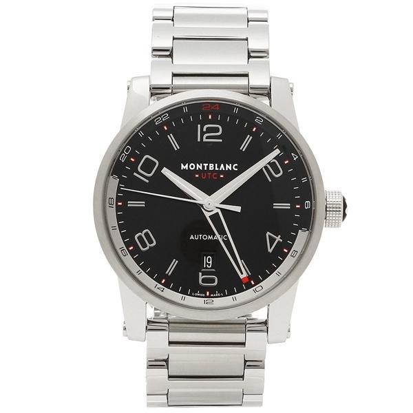 モンブラン 腕時計 メンズ MONTBLANC 109135 シルバー ブラック