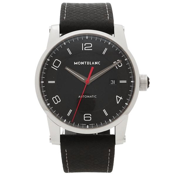 モンブラン 腕時計 メンズ MONTBLANC 113877 シルバー ブラック