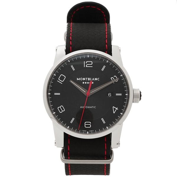 モンブラン 腕時計 メンズ MONTBLANC 115361 シルバー ブラック