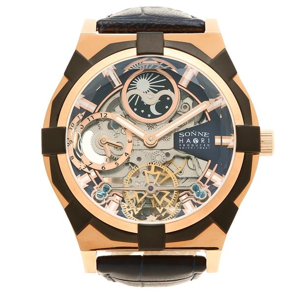 SONNE ゾンネ 腕時計 メンズ H019PG NV ネイビー ピンクゴールド