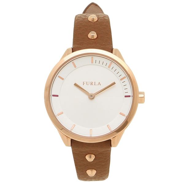FURLA フルラ 腕時計 レディース R4251102523 899301 W486 VBO SBB ブラウン ローズゴールド ホワイト