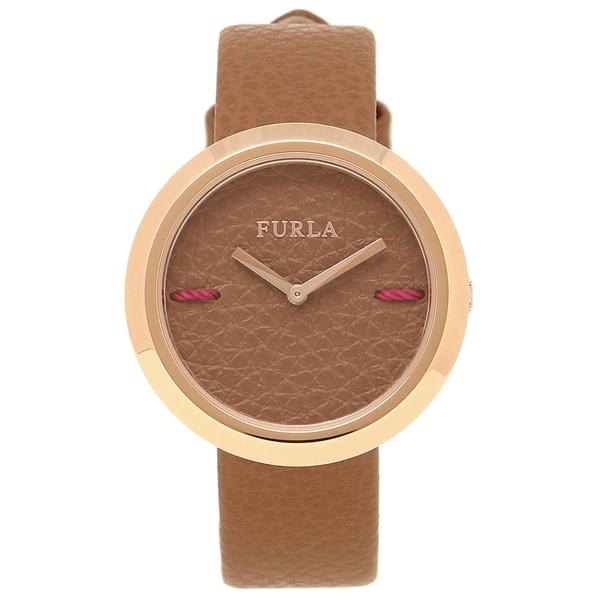 FURLA フルラ 腕時計 レディース R4251110508 944198 W501 VIT C0T ブラウン ローズゴールド