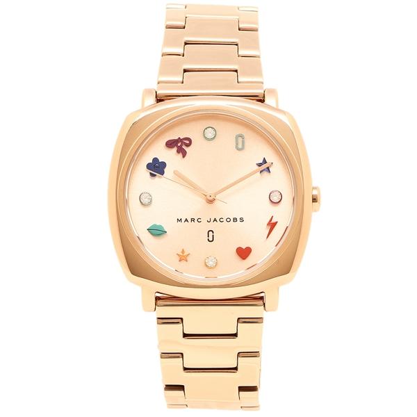 MARC JACOBS 腕時計 レディース マークジェイコブス MJ3550 ローズゴールド マルチカラー