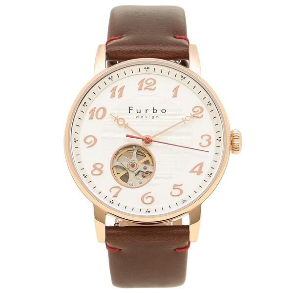 Furbo design 腕時計 メンズ フルボデザイン F8202PSIBR シルバー ブラウン