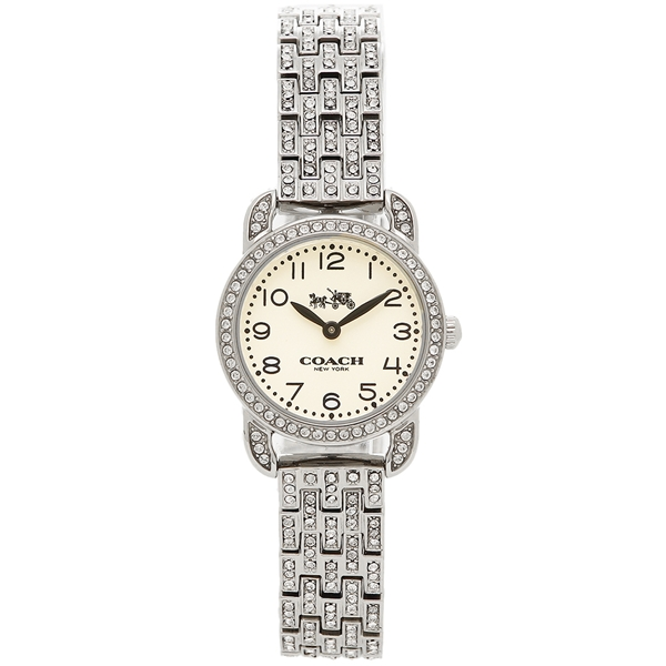 COACH コーチ 腕時計 レディース 14502655 シルバー ホワイト