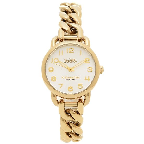 COACH コーチ 腕時計 レディース 14502801 シルバー イエローゴールド