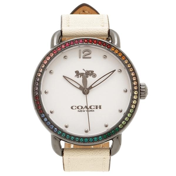 COACH コーチ 腕時計 レディース 14502888 ホワイト シルバー