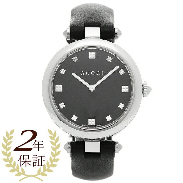 GUCCI 腕時計 レディース グッチ YA141403 ブラック シルバー