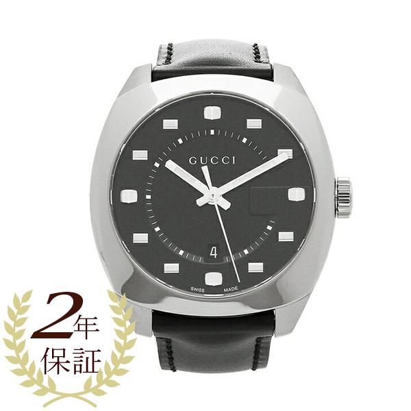 GUCCI 腕時計 レディース グッチ YA142307 ブラック シルバー