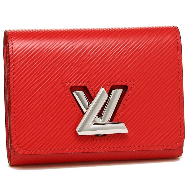 LOUIS VUITTON 二つ折り財布 レディース ルイヴィトン M64413 レッド