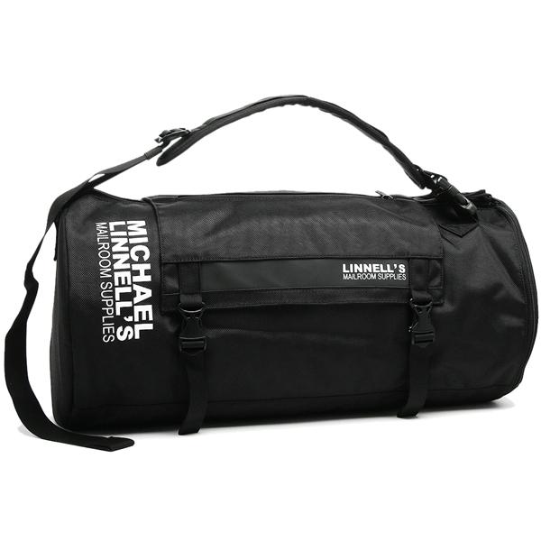 マイケルリンネル MICHAEL LINNELL ボストンバッグ ML-022 ブラック