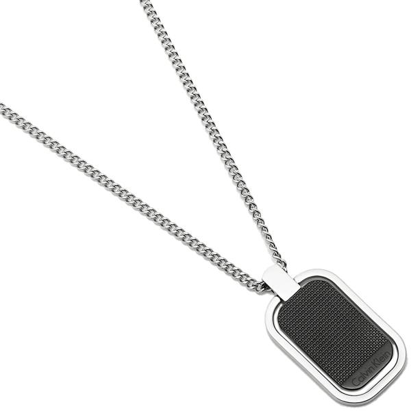 Calvin Klein カルバンクライン ネックレス アクセサリー メンズ KJ4QBN200100 ブラック/シルバー