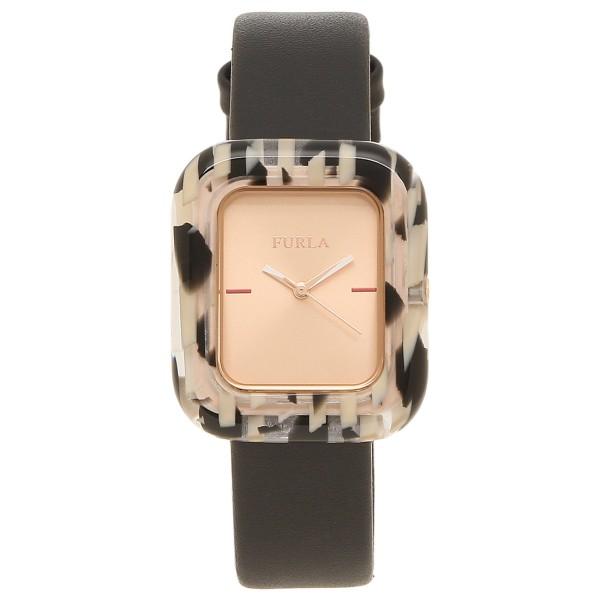 FURLA フルラ 腕時計 レディース 944088 R4251111505 r4251111505 ブラック マロンブラウン