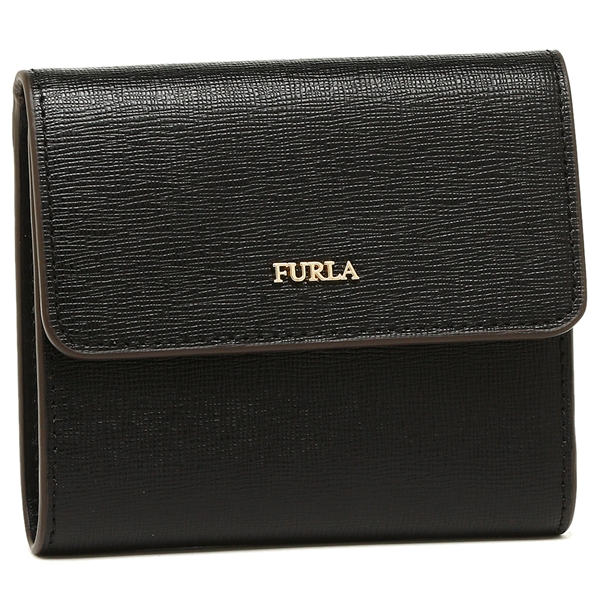 FURLA 折財布 レディース バビロン フルラ 921850 BAB PU11 B30 O60 ブラック