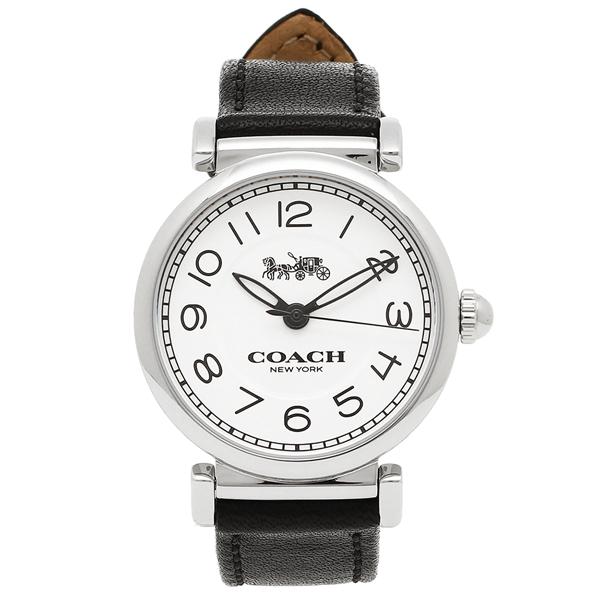 COACH 腕時計 レディース コーチ 14502860 ホワイト シルバー ブラック