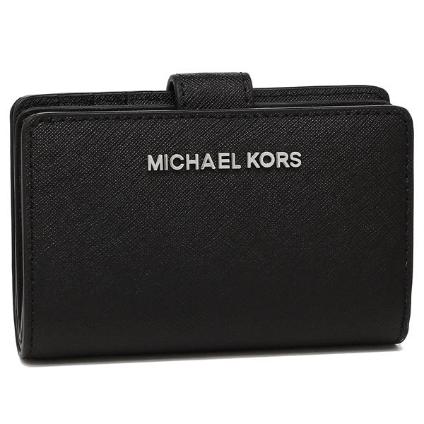 MICHAEL KORS 折財布 アウトレット レディース 35F7STVF2L BLACK ブラック