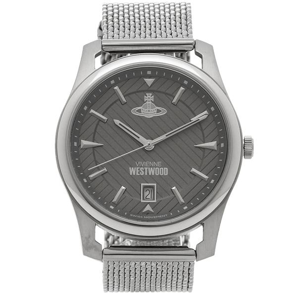 VIVIENNE WESTWOOD 腕時計 メンズ ヴィヴィアンウエストウッド VV185GYSL シルバー グレー