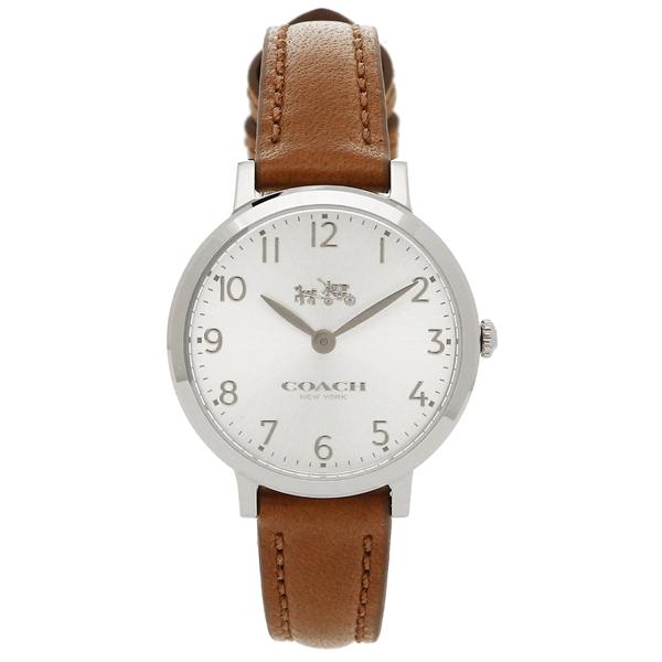 COACH 腕時計 レディース コーチ 14502563 ブラウン シルバー