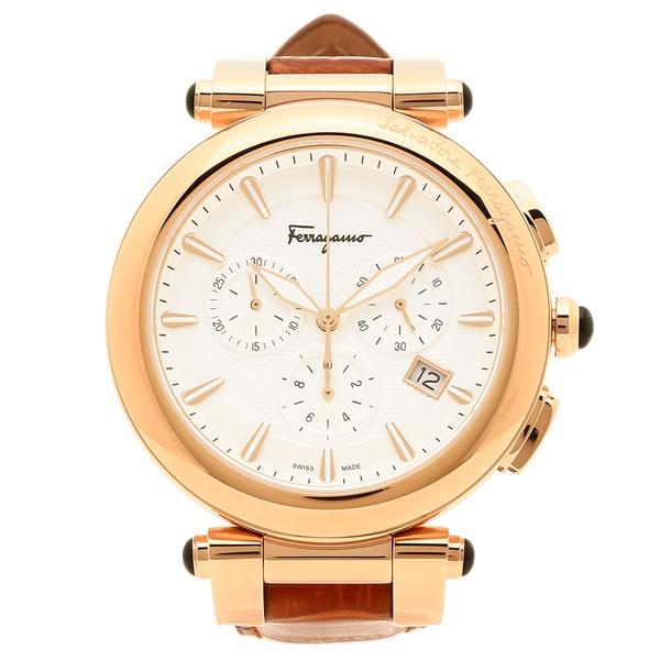 Salvatore Ferragamo 腕時計 メンズ フェラガモ FCP050017 ブラウン ローズゴールド