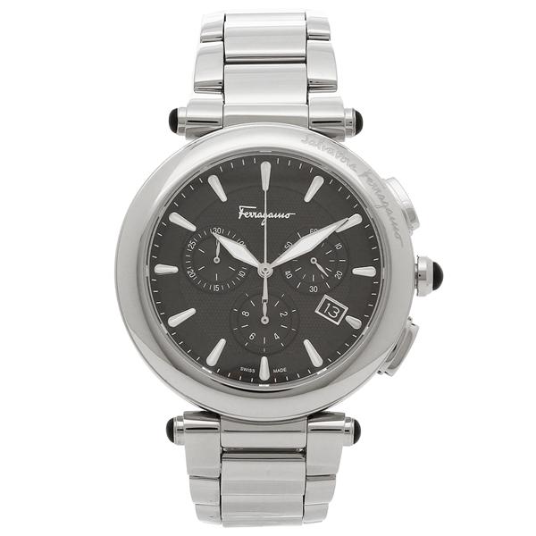 Salvatore Ferragamo 腕時計 メンズ フェラガモ FCP070017 シルバー ブラック