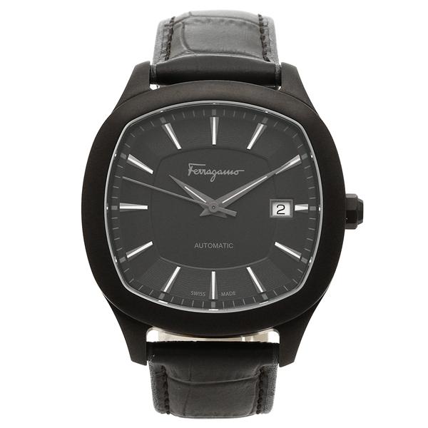 Salvatore Ferragamo 腕時計 メンズ フェラガモ FFW020017 ブラック
