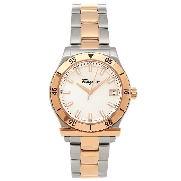 Salvatore Ferragamo 腕時計 レディース フェラガモ FH0040017 シルバー ローズゴールド