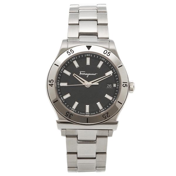 Salvatore Ferragamo 腕時計 レディース フェラガモ FH1030017 シルバー ブラック