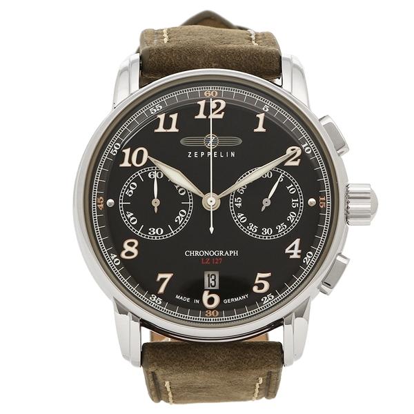 ZEPPELIN 腕時計 メンズ ツェッペリン 8678-2 ブラウン ブラック