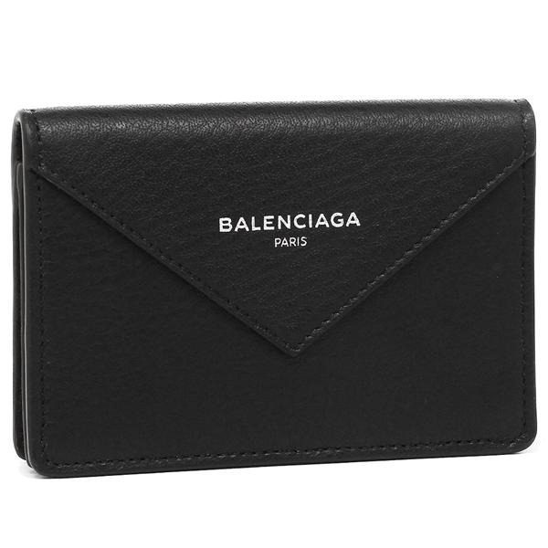 BALENCIAGA カードケース レディース バレンシアガ 499201 DLQ0N 1000 ブラック