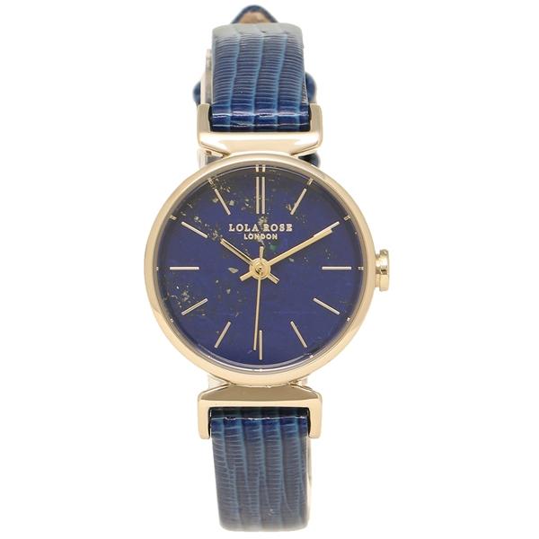 Lola Rose 腕時計 レディース ローラローズ LR2010 ブルー イエローゴールド