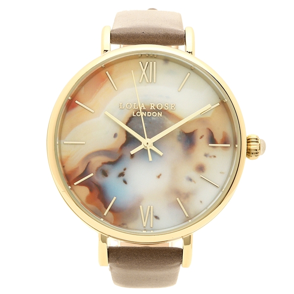 Lola Rose 腕時計 レディース ローラローズ LR2028 ベージュ ブラウン