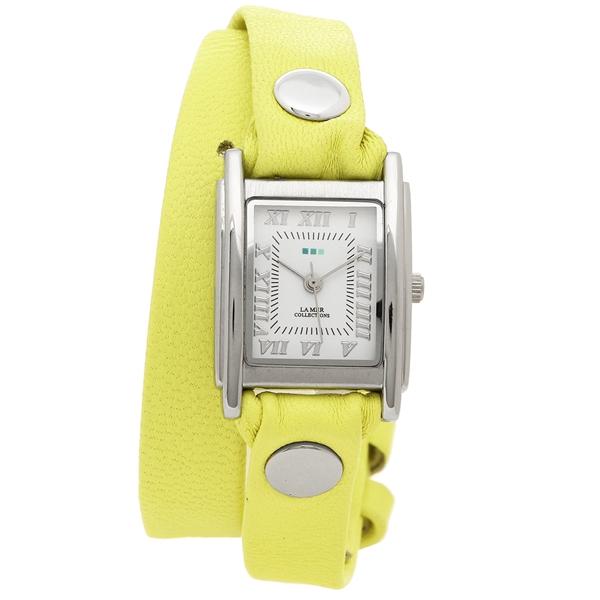 LA MER COLLECTIONS 腕時計 レディース ラメール コレクションズ LMDW1508 イエロー シルバー ホワイト