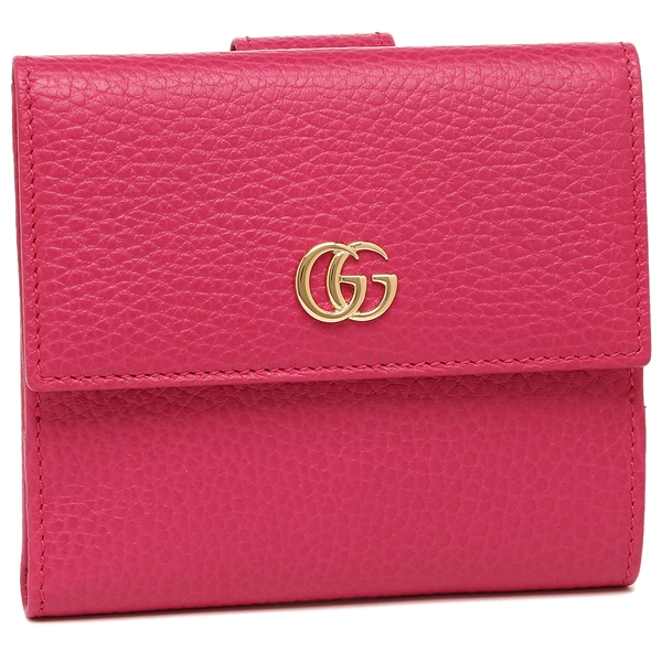 GUCCI 折財布 レディース グッチ 456122 CAO0G 5752 ピンク