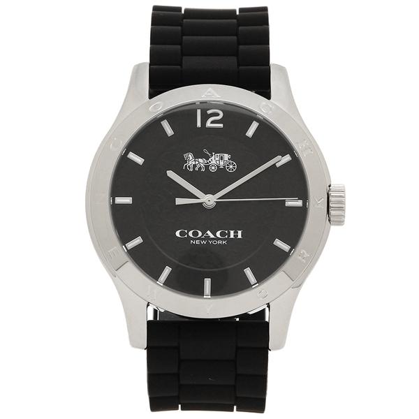 COACH 腕時計 レディース コーチ 14502217 W6033 BLK ブラック シルバー
