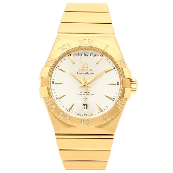OMEGA 腕時計 メンズ オメガ 123.55.38.22.02.002 イエローゴールド シルバー