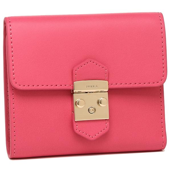 FURLA 二つ折財布 レディース フルラ 921907 PU28 UTW ピンク