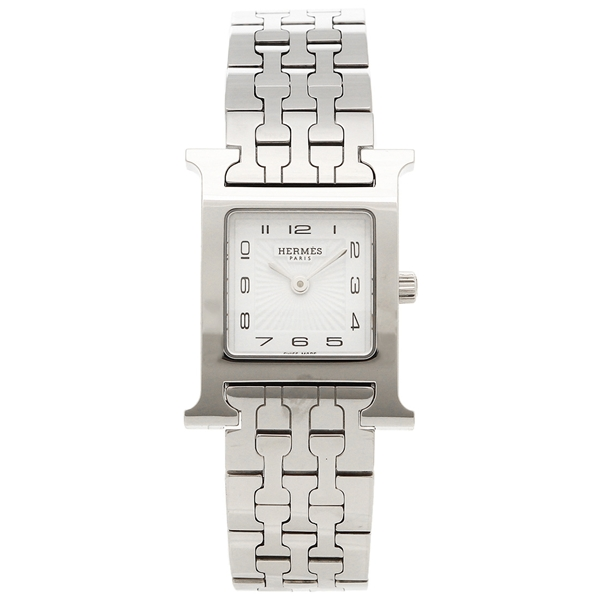 HERMES 腕時計 レディース エルメス HH1.210.131/4804 036701WW00 シルバー ホワイト