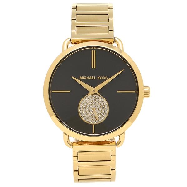MICHAEL KORS 腕時計 レディース マイケルコース MK3788 イエローゴールド ブラック
