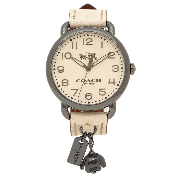 COACH 腕時計 レディース コーチ 14502743 ホワイト シルバー