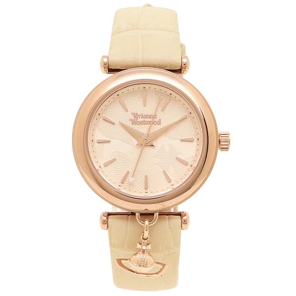 VIVIENNE WESTWOOD 腕時計 レディース ヴィヴィアンウエストウッド VV108RSCM ベージュ ローズゴールド