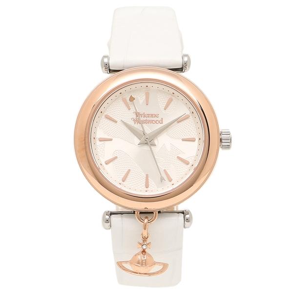 VIVIENNE WESTWOOD 腕時計 レディース ヴィヴィアンウエストウッド VV108RSWH ホワイト ローズゴールド
