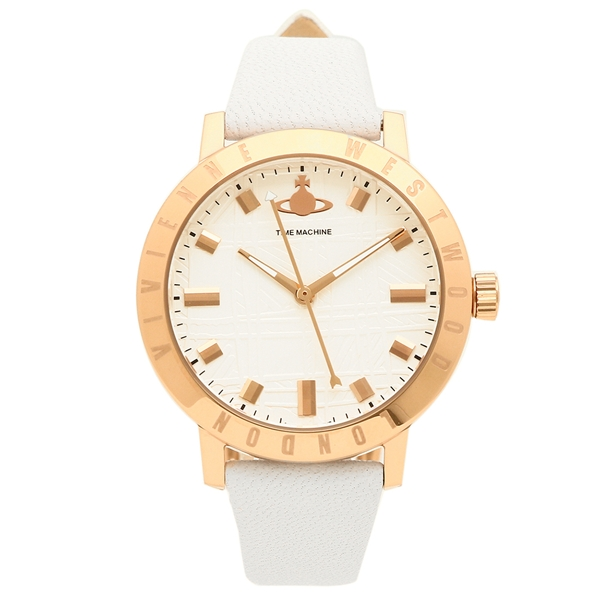 VIVIENNE WESTWOOD 腕時計 レディース ヴィヴィアンウエストウッド VV152WHWH ホワイト ローズゴールド