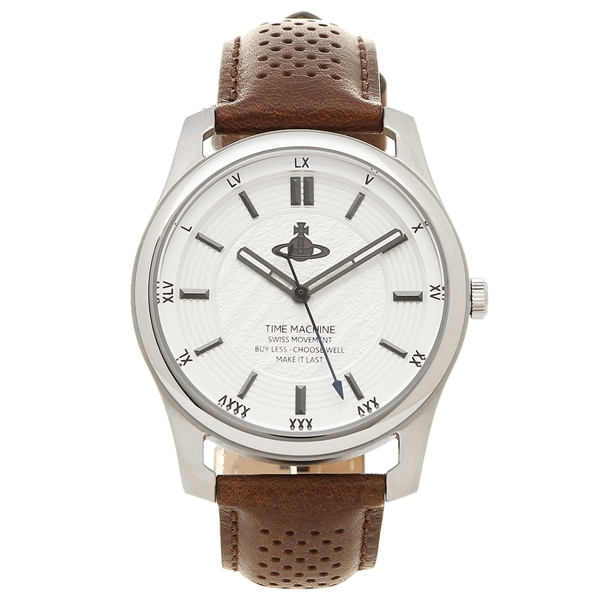 VIVIENNE WESTWOOD 腕時計 メンズ ヴィヴィアンウエストウッド VV185SLBR ブラウン シルバー