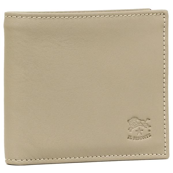 IL BISONTE 折財布 メンズ イルビゾンテ C0817 P 810 ベージュ